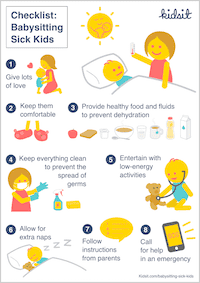 kidsit babysitting kit printable resources for caregivers