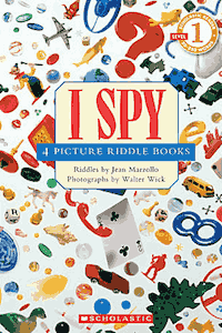 I Spy Picture Riddle Books by Jean Marzollo