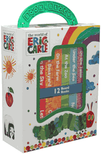 World of Eric Carle, My First Library Board Book Block Set