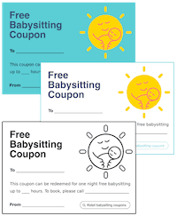 photograph regarding Free Printable Babysitting Coupons titled Babysitting For Cost-free (6 Good reasons Why Your self Need to, Moreover Coupon codes!)