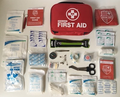 First Aid Kit - Contents